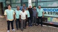 Equipe do Procon é recebida pelo Vereador Presidente Wagner Vieira França