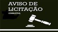 AVISO DE LICITAÇÃO - Edital Combustível